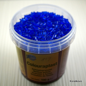 Colourplast modrý tm 100g