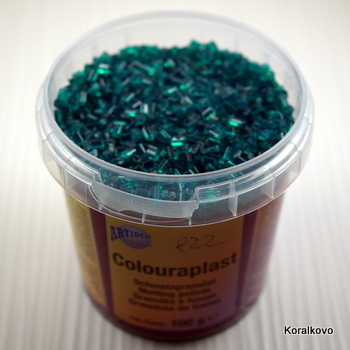 Colourplast zelený tm 100g